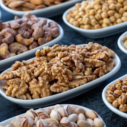 Tipos de nueces y sus características